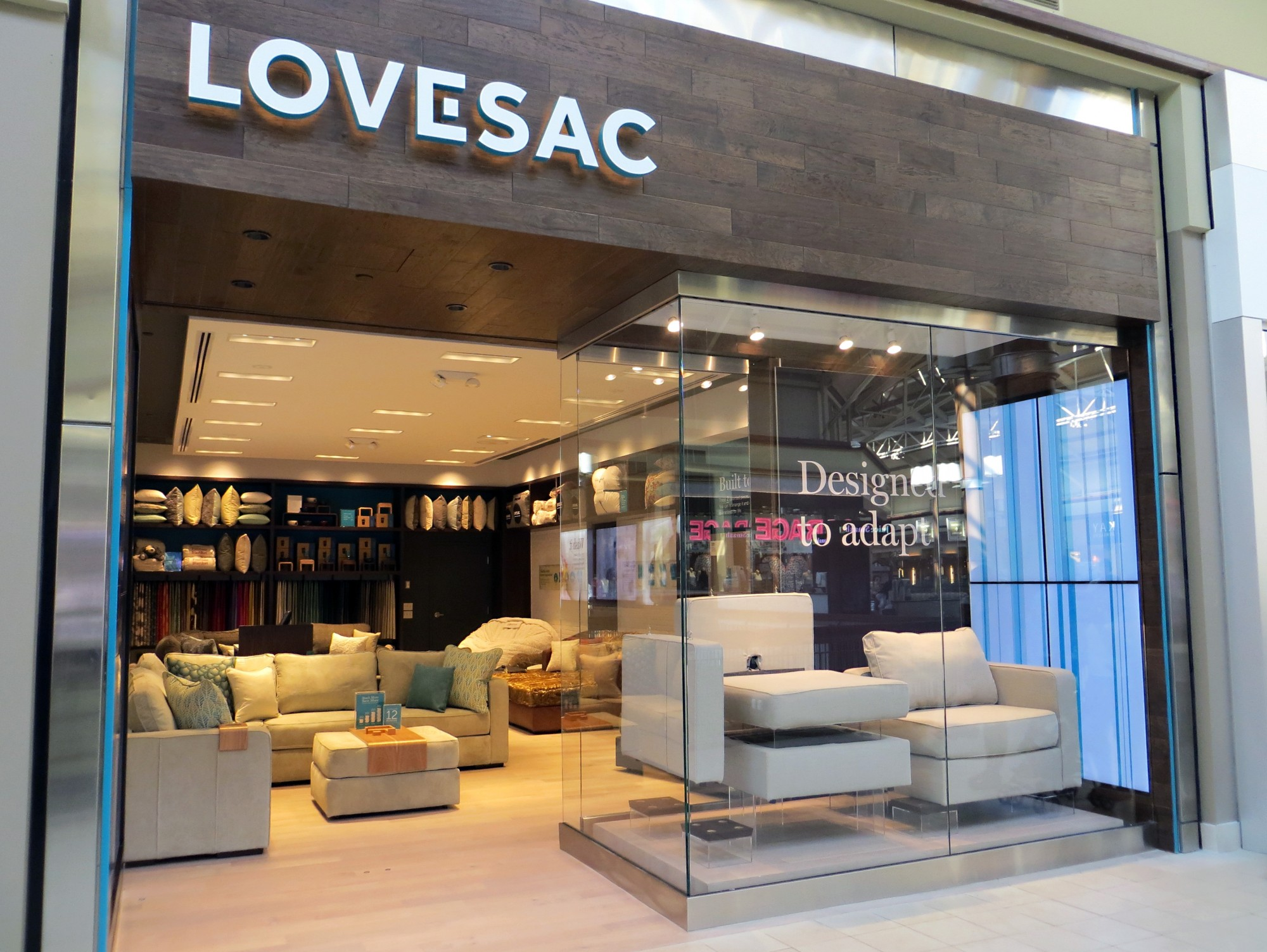 Lovesac Unveils New Generation Store Design Concept! - The Grayson Company